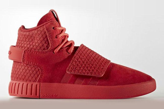 adidas Tubular Invader Red October