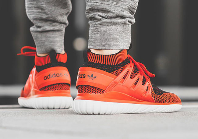 adidas Tubular Nova Primeknit Chili Red