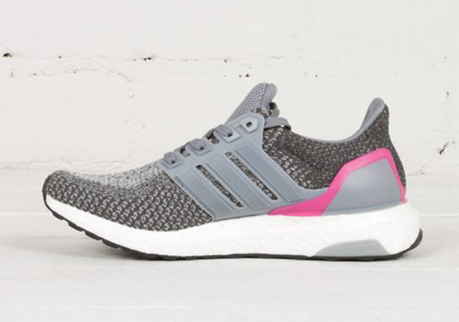 8803accf739e adidas Ultra Boost Grey Pink Womens