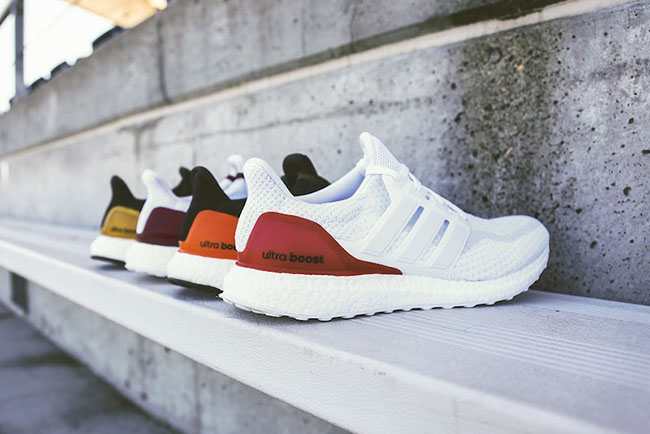 adidas Ultra Boost NCAA Football Colorways