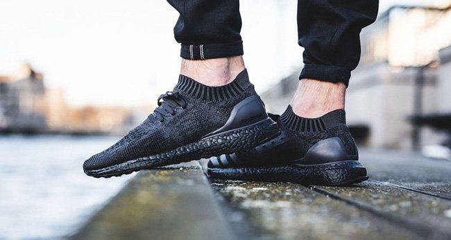 cfb09a3bb78e3 Adidas Ultra Boost On Feet Black wallbank-lfc.co.uk