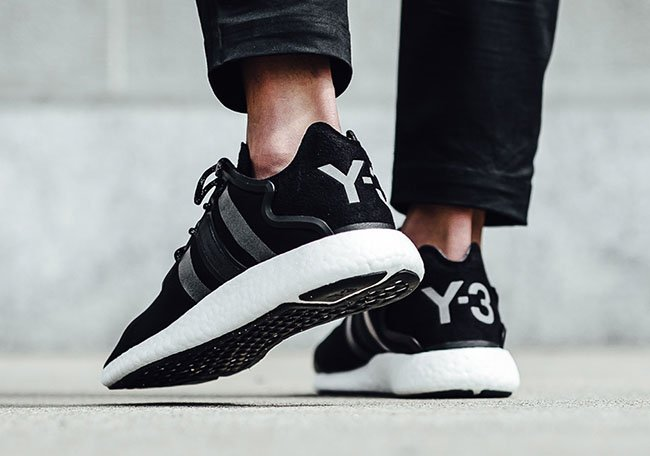 adidas Y-3 Yohji Run Boost Core Black