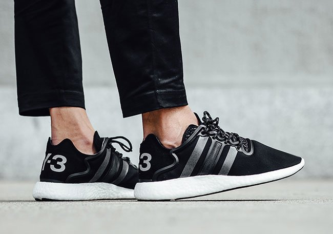 finest selection d4d21 d55ac adidas Y-3 Yohji Run Boost Core Black