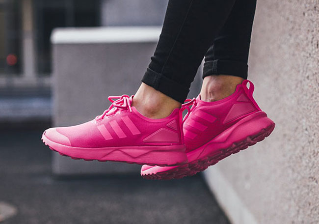 39f96a9ff373 adidas ZX Flux ADV Verve Shock Pink