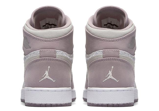 Air Jordan 1 GS Heiress Plum Fog
