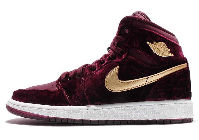 Air Jordan 1 Heiress Velvet