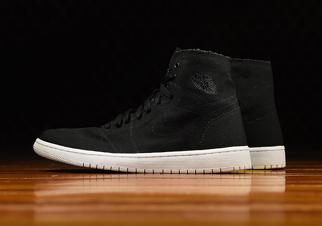 Air Jordan 1 High Deconstructed Black Sail