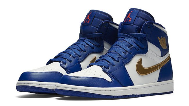 Air Jordan 1 High Gold Medal August 2016