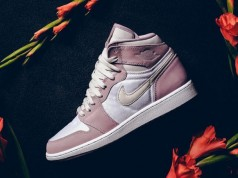 Air Jordan 1 High GS Heiress Plum Fog