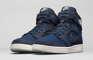 Air Jordan 1 KO High OG Blue Quilted