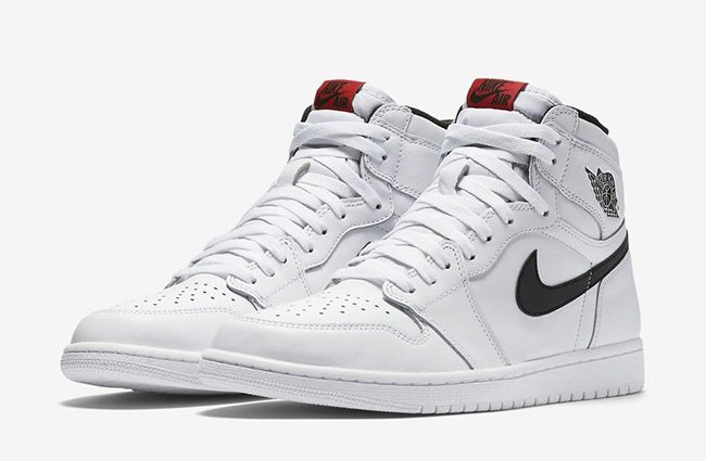 Air Jordan 1 Retro High OG Yin Yang White August 2016