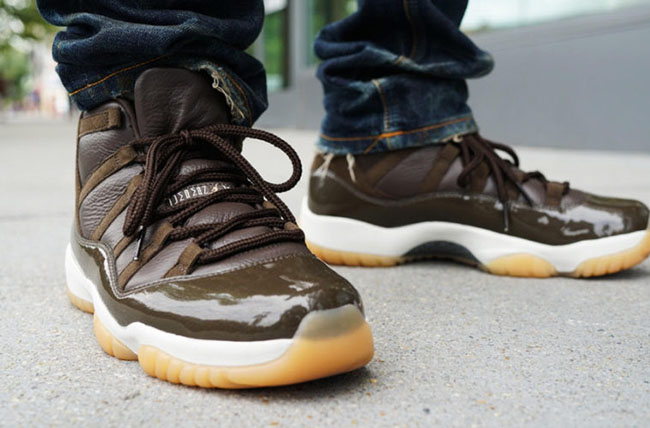 Air Jordan 11 Brown Gum Chocolate Anthony Hamilton