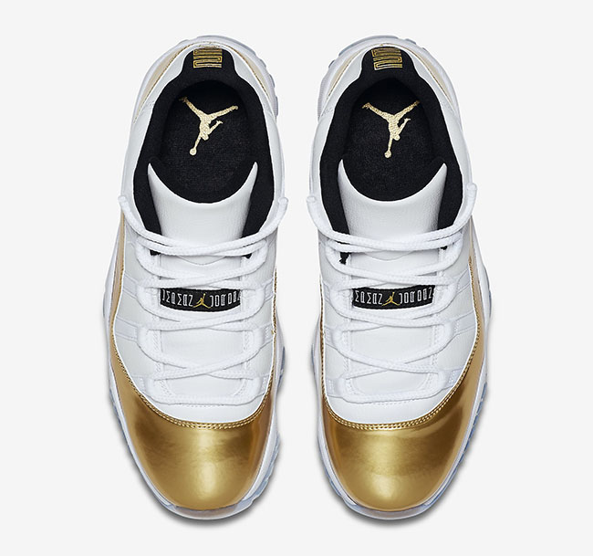 Air Jordan 11 Low Closing Ceremony White Gold