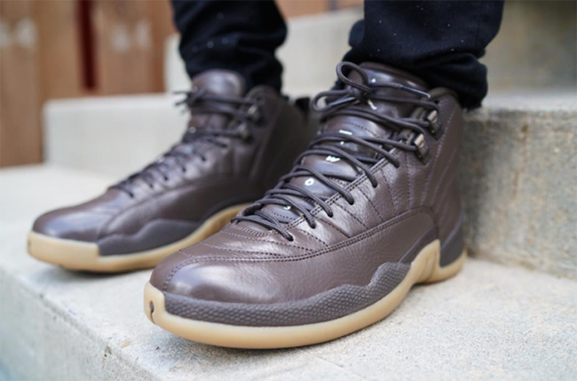 Air Jordan 12 Chocolate Brown Gum