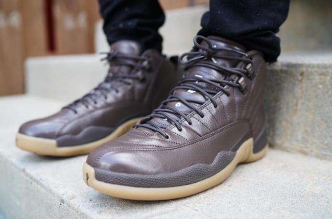 Air Jordan 12 Chocolate Brown Gum