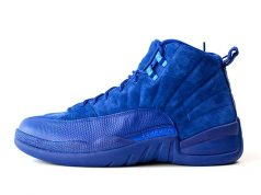 Air Jordan 12 Premium Deep Royal Blue Release Suede