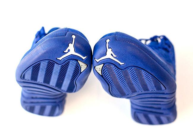 Air Jordan 12 Premium Deep Royal Blue Release Suede