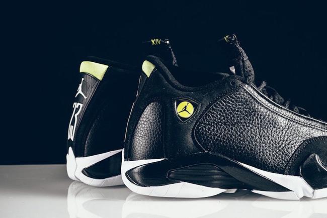 Air Jordan 14 Indiglo Vivid Green Black