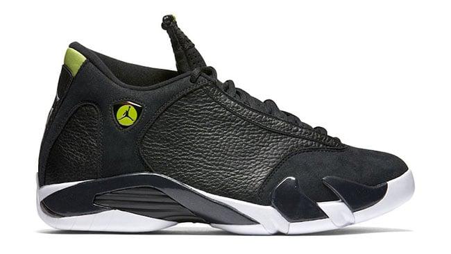 Air Jordan 14 Black Green