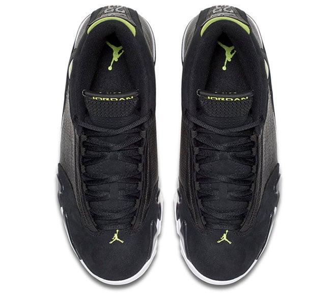 Air Jordan 14 Retro Indiglo Black Green