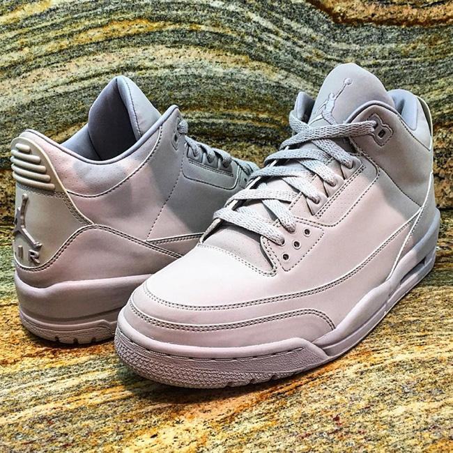 Air Jordan 3 College Grey Sample