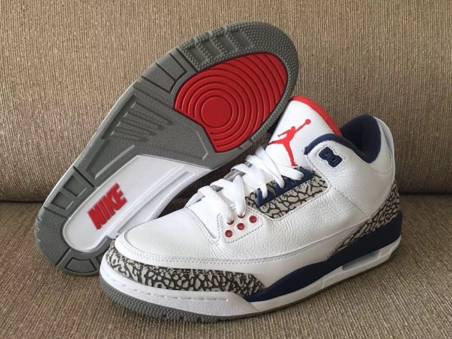 Air Jordan Retro 3 White Cement