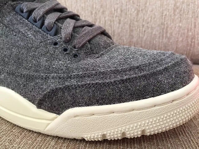 Air Jordan 3 Retro Wool Dark Grey