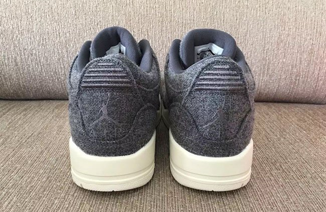 big sale a0723 eefae Nike Air Jordan 3 Retro Wool III Dark Grey Sail Men Basketball AJ3  854263-004 ""