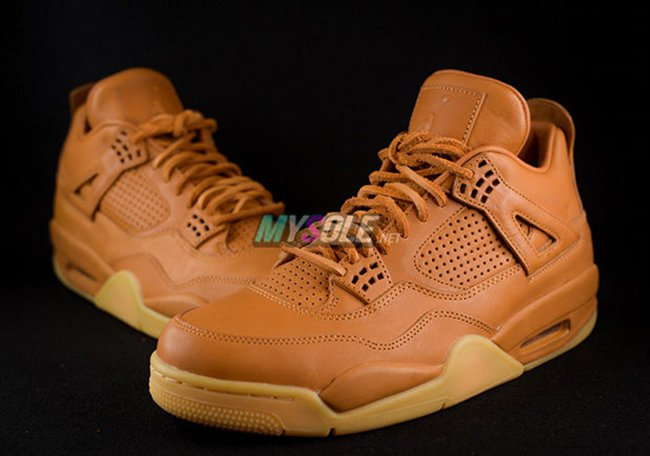 Air Jordan 4 Premium Retro Wheat