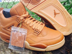 Air Jordan 4 Wheat