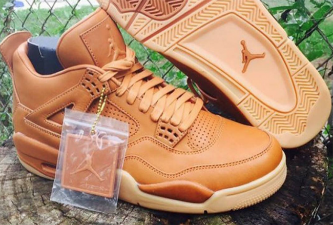 First Look: Air Jordan 4 'Wheat'