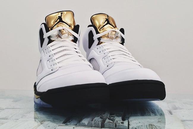 Air Jordan 5 Gold Tongue