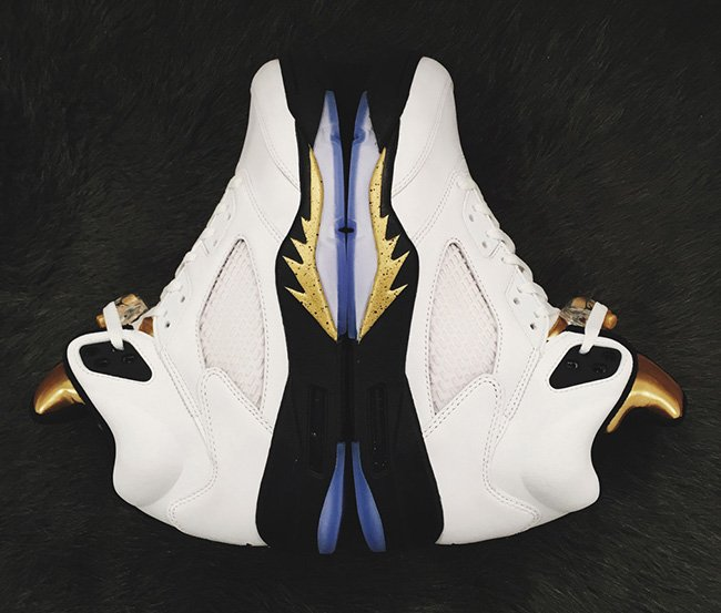 Air Jordan 5 Gold Tongue