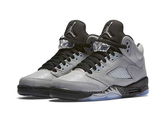Air Jordan 5 GS Wolf Grey Black August 2016