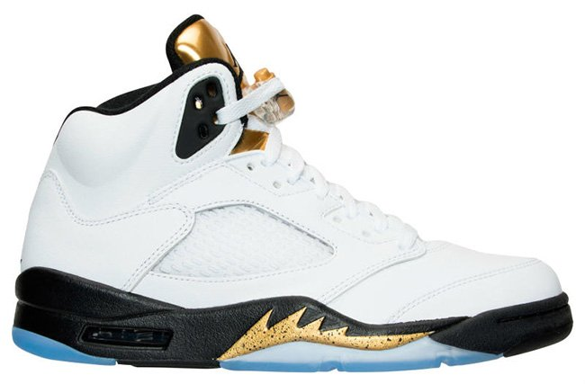 Air Jordan 5 Olympic Gold Tongue August 2016