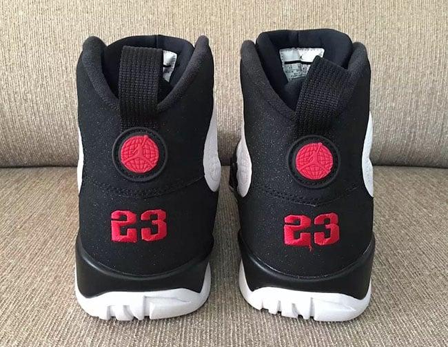 Air Jordan 9 Retro OG Playoff 2016 Release Date