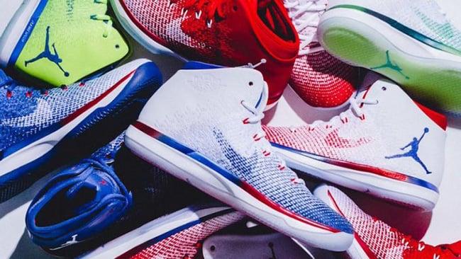 Air Jordan XXX1 Olympics Collection