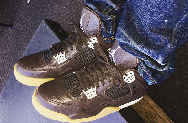 Anthony Hamilton Air Jordan 4 Chocolate
