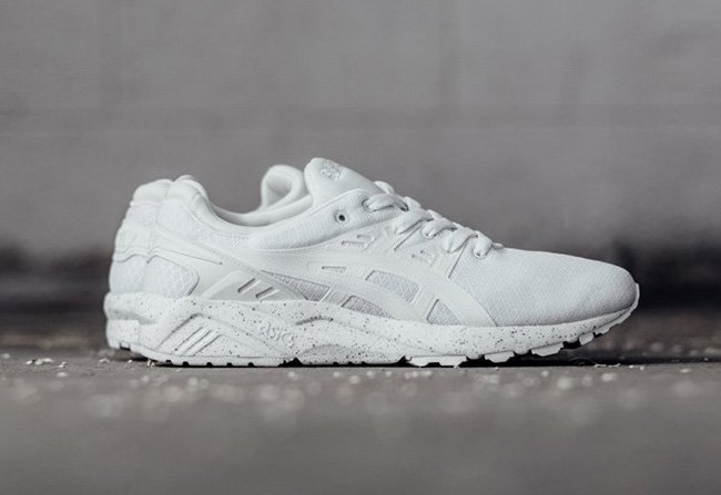 asics gel kayano trainer white