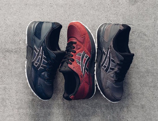asics gel lyte 5 pomegranate