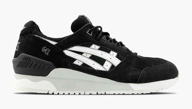 Asics Gel Respector Core Plus Black White
