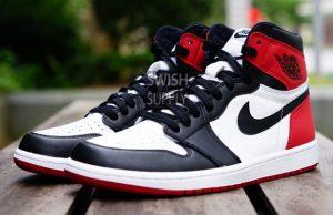 Black Toe Air Jordan 1 2016