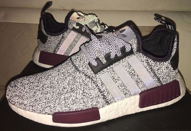 champs adidas nmd grey black burgundy sneakerfiles. Black Bedroom Furniture Sets. Home Design Ideas