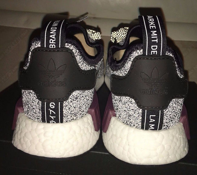 22d3745ce7b37 Champs adidas NMD Grey Black Burgundy