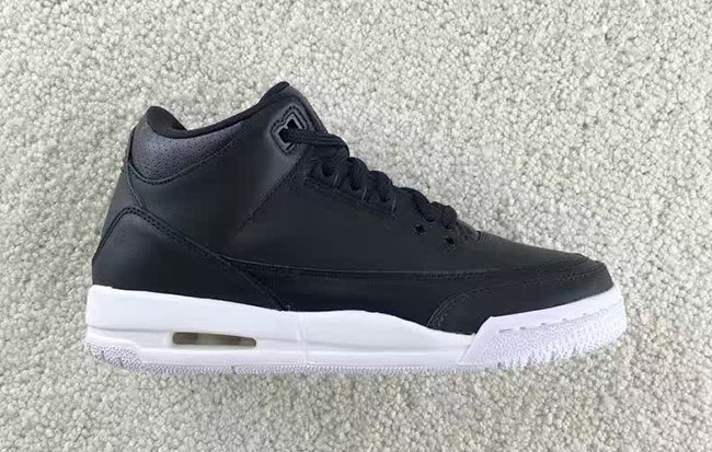 Cyber Monday Air Jordan 3 Black White