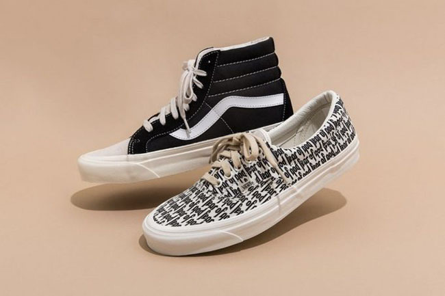 Fear of God x Vans SK8-Hi Era