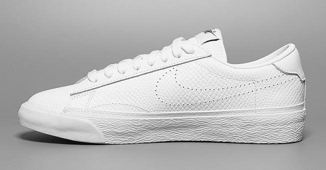 fragment design x Nike Tennis Classic Triple White