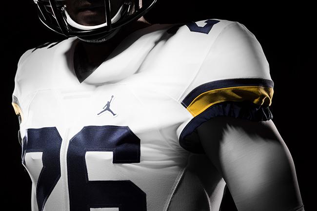 Michigan Air Jordan Football Uniforms