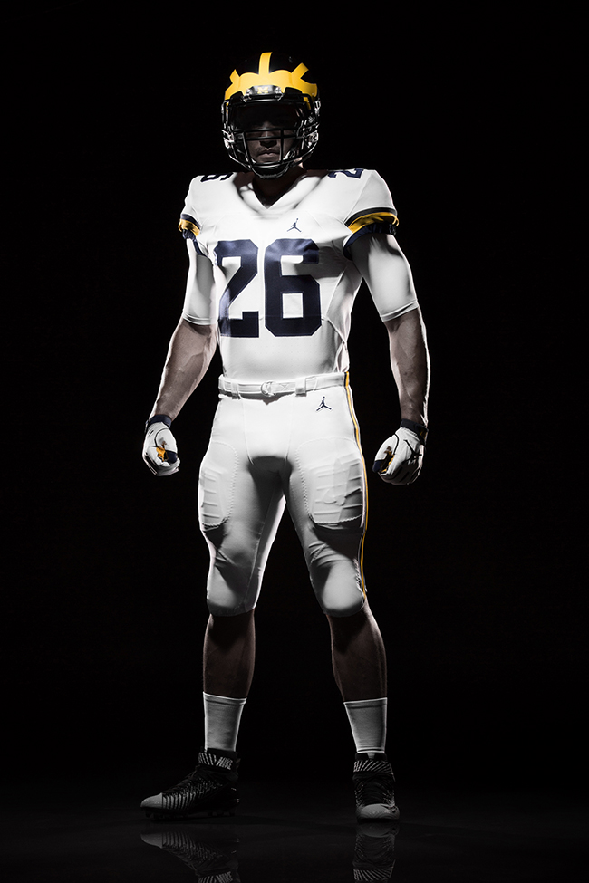 Michigan Air Jordan Football Uniforms Sneakerfiles