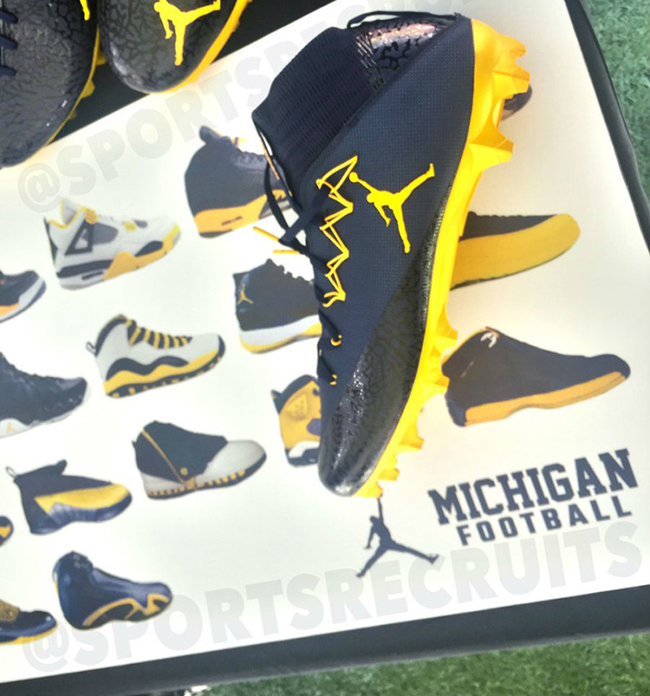Michigan Air Jordan Retro Collection